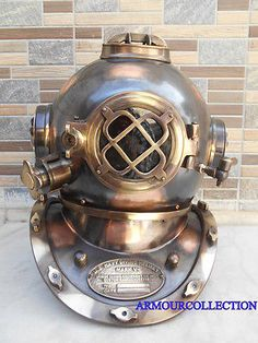 Maritime #diving #scuba anchor divers #helmet sea deep ship collectibles gift , View more on the LINK: http://www.zeppy.io/product/gb/2/281983319344/