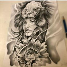 "1,222 Likes, 4 Comments - @mexicanstyle_art on Instagram: ""Clown girl by @tattoosbysergiomendez #mexicanstyle_art #drawing #art #arte #payasa #payasa"""