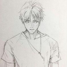Pictures of eren jaeger character design - Guy Drawing, Character Drawing, Manga Drawing, Manga Art, Anime Art, Character Design, Anime Drawings Sketches, Anime Sketch, Levi X Eren