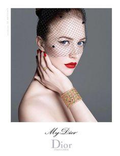 Dior Jewelry campaign Raquel Zimmerman