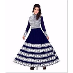 Buy Vraj Fashion Hansika blue salvar suit by vraj fashion, on Paytm, Price: Rs.1449