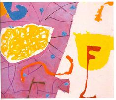 Patrick Heron Pale Pink and Lemon Painting: November 1982-May 28 1984, Oil on canvas, 96.5 x 121.9 cm