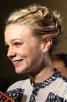 carey mulligan hair growing out - Google Search