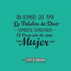 """""""Estoy seguro que los hombres estarán de acuerdo con esto. #DonCritiano  #alaba"""""""