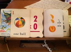 We love all the vintage flashcards we carry at DeeDee's in Bonner Springs, KS.  There are so many fun things you can do with these.