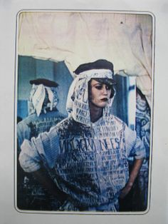 brilliant Melbourne (Australia) label ABYSS started in 1983  - these are some of their first pieces.  1980s textile design and fashion.  Photos from their recent retrospective Galaxy Now. Photo by Miles Standish 1984