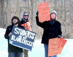 MSU students protest rising cost of education