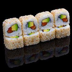 Maki California: www. Sushi Co, Sushi Burger, My Sushi, California Food, California Travel, Japanese Food Sushi, Sushi Party, Exotic Food, Healthy Recipes
