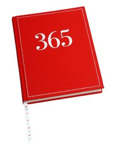 """Journal with numbers not dates, so your """"year"""" can start any time!  LIke the idea...."""