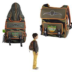 Safari Hoodie Backpack - Superhero hoodie backpack for kids -This stylish backpack keeps kids looking cool at all times. With a built-in hood it's also the coolest way to stay dry in the rain, because superheroes can't be bothered with umbrellas! Simply pull the hidden hood out of a pocket at the top of the backpack and go under cover. The backpacks are made from environmentally friendly, insulating EVA to keep snacks & drinks fresh. Perfect for early elementary school students (ages 5-10)