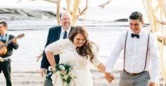 Intimate + Romantic Nicaraguan Beach Wedding