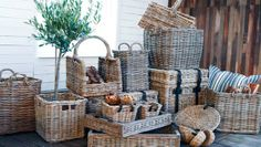 One of my favourite decor items is chunky wicker baskets. They have so many uses and are handing as storage or simply as a display item!   These pieces are from the Artwood of Sweden range available at Greenslades Furniture www.greensladesfurniture.co.nz