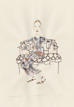 """The Unprecedented Election via fridawannerberger (the shop). Click on the image to see more! What To Wear When Eating Artichoke Purée via fridawannerberger (the shop). Click on the image to see more! #art """"fashionillustration #fridawannerberger #illustration #drawing #details #fashion #simonerocha #lfw #watercolor #gouache"""