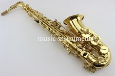 (297.35$)  Buy here - http://aiuwl.worlditems.win/all/product.php?id=32799438624 - 2017 New Custom YAS-62 Alto Saxophone Gold Lacquer Brass Instruments Professional Sax Mouthpiece With Case and Accessories