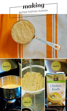 how to make quinoa more flavorful