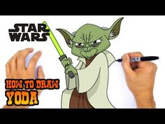How to Draw Chewbacca Angry Birds Characters, Star Wars Characters, Star Wars Kids, Lego Star Wars, Art Lessons For Kids, Art For Kids, Yoda Drawing, Star Wars Crafts, Drawing Tutorials For Kids