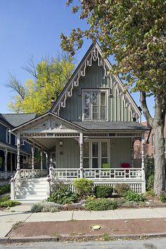 Buffalo, Allentown, 60 Arlington Park, 1867 (Addition 1880s)