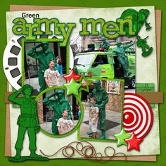 Green Army Men - MouseScrappers.com -- i don't have any pictures with the green army men...drat!  maybe next time!  jlk
