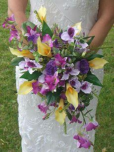 tropical bridal bouquets | Bouquet rental: $15.00 brides bouquets/$10.00 bridesmaid bouquets