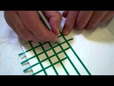 Porcelain Painting -Marion Baldwin - The Brick Wall Stage 1 - YouTube