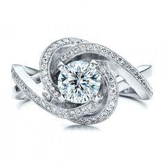 Custom Diamond Engagement Ring   Joseph Jewelry Seattle Bellevue
