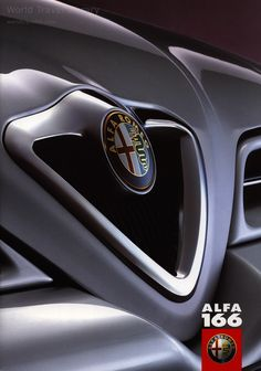 Alfa Romeo 166, 1999, 2002_1, car brochures Alfa Romeo, Alfa Alfa, Car Brochure, World Traveler, Brochures, Porsche Logo, Bugatti, Automobile, The Past