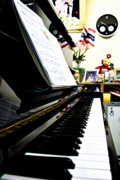 Piano in my sister room :D     Classic musical instruments