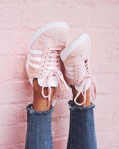 adidas iniki roze blauw
