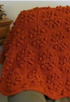Just Right Crochet Afghan - Knitting Patterns by Skerin Knitting and Crochet