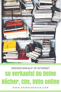 Medienverkauf im Internet: So klappt's! Internet, Basset Dog, Pinterest Marketing, Shoe Rack, Helpful Hints, Wordpress, Hacks, Budget, Debt Free