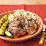 www.gaea.gr Soy-Marinated Chicken Thighs Recipes