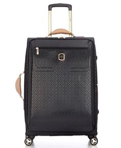 """Guess? Frosted 25"""" Spinner Suitcase"""