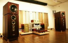 Dynaudio consequence , Dartzeel amps , Meridian player
