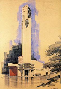 Pabellón de Información y Turismo en la Exposición de Paris 1925 | Robert Mallet-Stevens