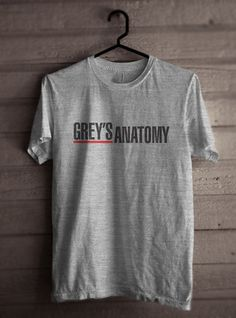 Greys Anatomy Men Tshirt tee Short sleeve by PalmTreeProduction