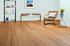 PLYBOO STILETTO FLOORING - BRUSHED AMBER COLOR
