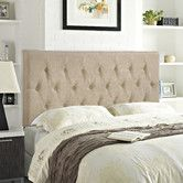Found it at Wayfair - Clique Upholstered Panel Headboard