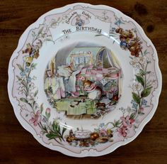 Royal Doulton, Brambly Hedge Plate: The Birthday #GiftPlate