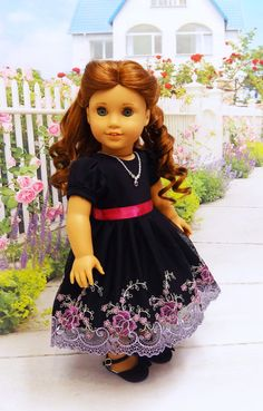 Twilight Roses vintage style dress for by cupcakecutiepie on Etsy