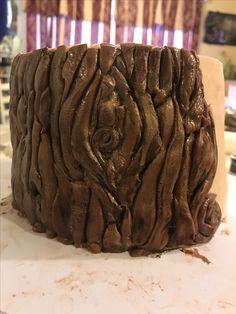 Making Tree wedding cake