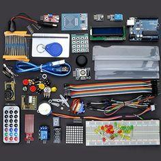 Arduino Starter Kit - UNO R3 Arduino Sensors, Electronics Projects, Starter Kit, Raspberry, Sketch, Raspberries