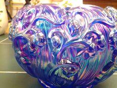 **PRICE REDUCED* Blue and Purple Fenton Glass by EastIdahoCompany, $64.99 on Etsy #vintageglassonetsy  #eastidahocompany