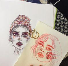 illustrations @dcbarroso #art #illustrateyourpoint follow @coletteahhsekal for more.