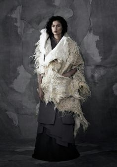 InAisce women's capsule collection FW13 whole fleece Sherpa-looking...I like it.