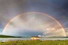 church under the rainbow    http://evgenidinevphotography.com/gallery/church_under_the_rainbow/#