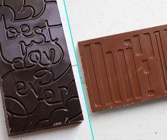 typographic chocolate