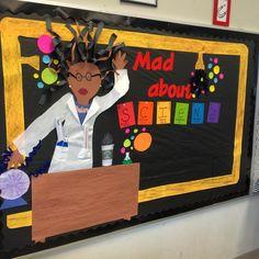 bulletin board science classroom - Buscar con Google