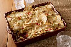 Horneado de nachos con queso con chiles picantes Receta - Comida Kraft