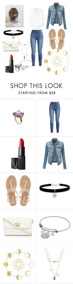 """""""Cinderella modern twist #3"""" by gamergirl360567 ❤ liked on Polyvore featuring Anabela Chan, NARS Cosmetics, LE3NO, Head Over Heels by Dune, Betsey Johnson, Red Herring, Disney, Swarovski and modern"""