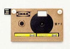 """""""KNAPPA""""  camera from IKEA"""